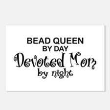 Bead Queen Devoted Mom Postcards (Package of 8)