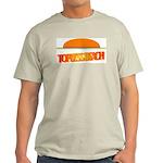 Topless Beach Ash Grey T-Shirt