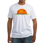 Topless Beach Fitted T-Shirt