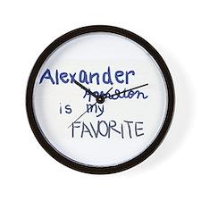 Unique Alexander Wall Clock