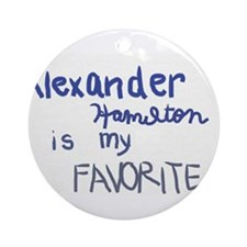 Unique Alexander Ornament (Round)