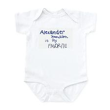 Funny Alexander Infant Bodysuit