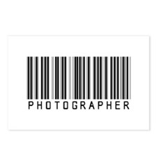 Photographer Barcode Postcards (Package of 8)