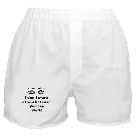 I Don't Stare! Boxer Shorts