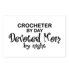 Crochet Devoted Mom Postcards (Package of 8)