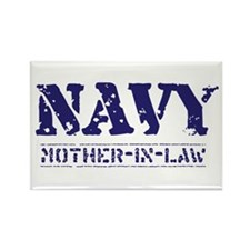 Mother-in-Law Stencil Rectangle Magnet