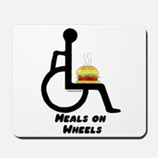 Meals on Wheels Mousepad