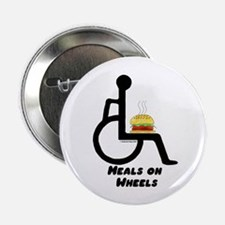 """Meals on Wheels 2.25"""" Button"""