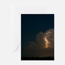 Cute Storm clouds Greeting Cards (Pk of 20)