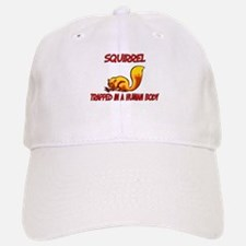 Squirrel trapped in a human body Baseball Baseball Cap