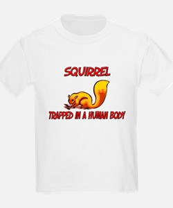 Squirrel trapped in a human body T-Shirt
