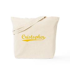 Vintage Cristopher (Orange) Tote Bag