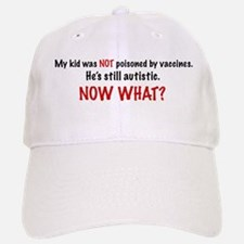 Now What? Baseball Baseball Cap