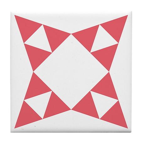 Iowa Star Tile Coaster