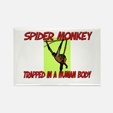 Spider Monkey trapped in a human body Rectangle Ma