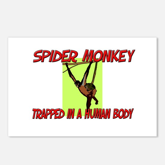 Spider Monkey trapped in a human body Postcards (P