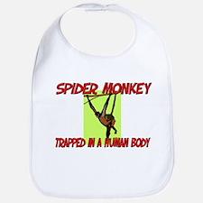 Spider Monkey trapped in a human body Bib