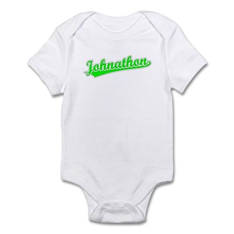 Retro Johnathon (Green) Infant Bodysuit
