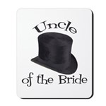 Top Hat Bride's Uncle Mousepad