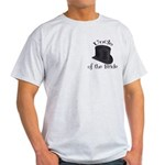 Top Hat Bride's Uncle Light T-Shirt