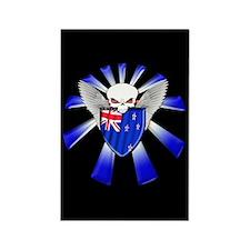 New Zealand Defender Rectangle Magnet