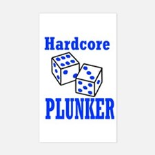Hardcore Plunker Rectangle Decal