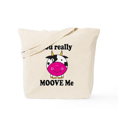 Cute Moove Me Cow Tote Bag