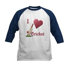 I Love Cricket Tee