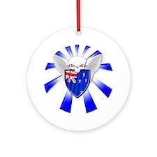 New Zealand Defender Ornament (Round)