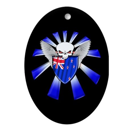 New Zealand Defender Ornament (Oval)