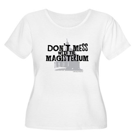 Don't Mess with the Magisteri Women's Plus Size Sc
