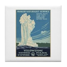 Yellowstone National Park Tile Coaster