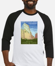 Zion National Park Baseball Jersey