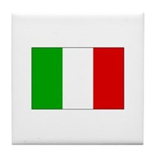 Flag of Italy Tile Coaster