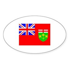 Canada - Ontario Oval Bumper Stickers