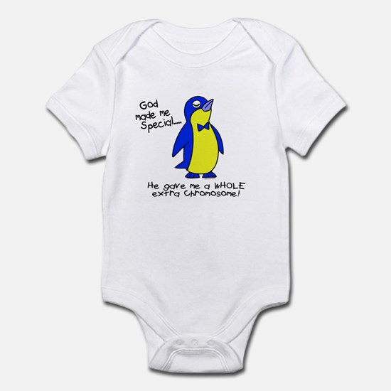 God Made Me Special 1 (Down Syndrome) Infant Bodys