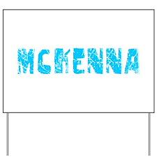 Mckenna Faded (Blue) Yard Sign