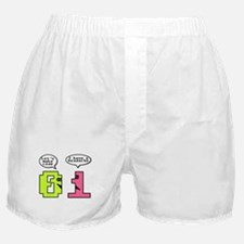 Opposites Attract Boxer Shorts