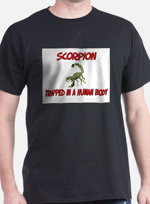 Scorpion trapped in a human body T-Shirt