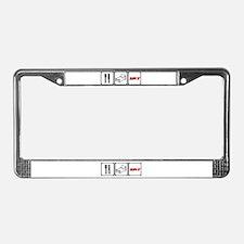 Eat Sleep SRT License Plate Frame