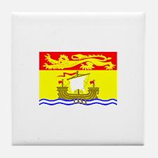 Canada - New Brunswick Tile Coaster