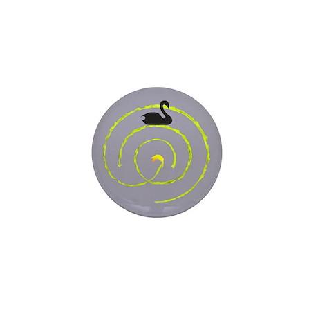 Labyrinth Mini Button