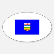 Canada - Alberta Oval Decal