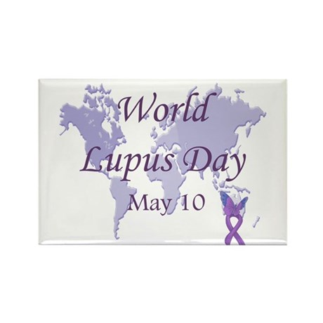 World Lupus Day Rectangle Magnet (100 pack)