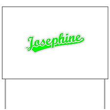 Retro Josephine (Green) Yard Sign