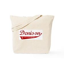 Denison (red vintage) Tote Bag