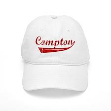 Compton (red vintage) Baseball Cap