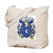 Barker Family Crest Tote Bag