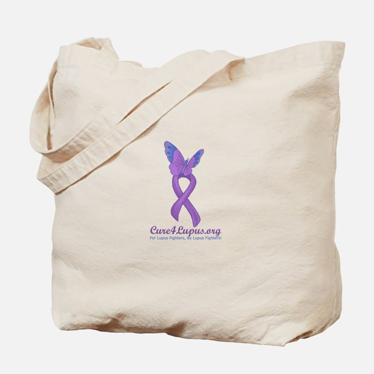 Cure4Lupus.org Logo Tote Bag