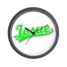 Retro Josue (Green) Wall Clock